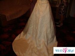 suknia ślubna, Sincerity Bridal, ecru, rozmiar 36/38 + DODATKI GRATIS