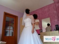 "Suknia ślubna ""Sincerity Bridal"" + gratisy! Polecam!"