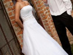 Suknia Ślubna Sincerity Bridal r. 38 biała