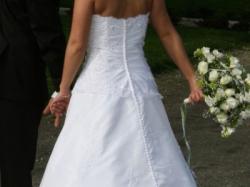 Suknia ślubna SINCERITY model 3315 biała