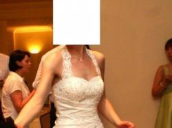 Suknia slubna Sincerity - model 3315 + bolerko