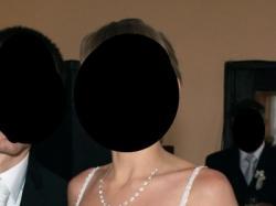 Suknia Ślubna SITARA biała, bez trenu, lekka
