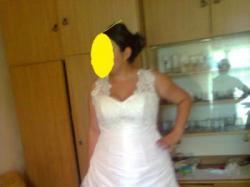 Suknia ślubna śmietankowa sprzedam