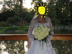 suknia ślubna śnieżno-biała 700zł