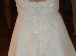 Suknia ślubna -Śnieżnobiała