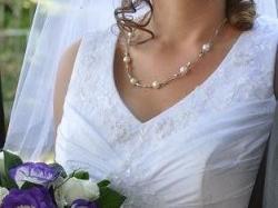 śuknia ślubna, spory rozmiar dla kobietki z większym biustem