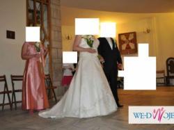 Suknia Ślubna Sposa-Catania Swarovski rozmiar46