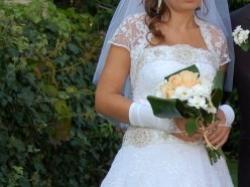 Suknia ślubna SPOSA + dodatki