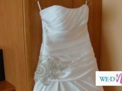 suknia slubna Sposa model Berlin rozmiar 38 BIALA