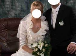 Suknia ślubna, SPOSABELLA 423, rozm. 36/38, ecru