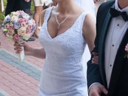 Suknia ślubna Sposabella Delicios 1321, 36, stan idealny