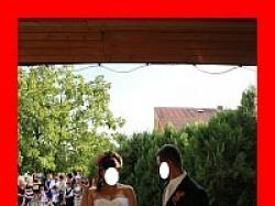 suknia ślubna SPOSABELLA  delikatne falbanki HISZPANKA 36 / 38  + gratisy WARTO!
