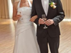 Suknia ślubna styl romantyczny,rozm 38-40