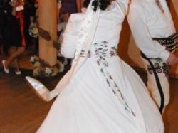 Suknia ślubna - stylizowana