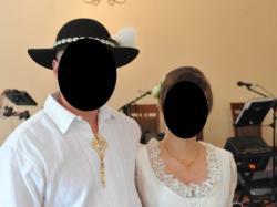 Suknia ślubna stylizowana (może być ciążowa)