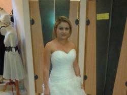 Suknia ślubna Susan + welon, bolerko