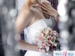 Suknia ślubna SWAROVSKI + GRATISY! rozm. 36-38