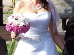 Suknia Ślubna SWEETHEART 5893 kolekcja 2010