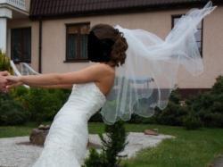 Suknia ślubna Sweetheart rozmiar 36 kolor Ivory/Silver