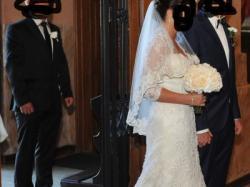suknia ślubna syrena/rybka justin alexander 8605