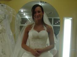 Suknia Ślubna szampańska Margarett