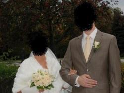 Suknia ślubna szyta na miarę, model 2007 - Kinga, z kolekcji projektanta Papa Mi