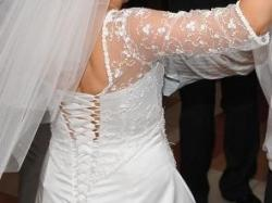 Suknia ślubna szyta na wzór Maggie Sottero model Rosemary Leigh rozm. 40