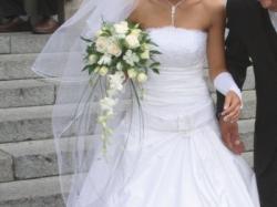suknia ślubna szyta na wzór sukni Urszuli Matei
