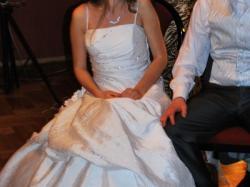 SUknia ślubna TANIO