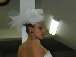 Suknia ślubna TANIO NOWA!!! biała 36/38 krótka z odpinanym trenem