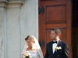 Suknia ślubna TENOR, LUNA NOVIAS (roz. 36)