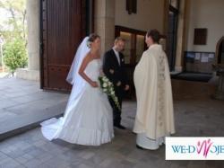 suknia ślubna tylko dla eleganckiej Panny Młodej - oryginal Emmi Mariage