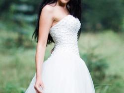 Suknia ślubna typ- księżniczka