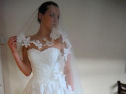 suknia slubna typu Alcanar Pronovias