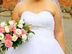 Suknia Slubna typu princess rozmiar 44-48