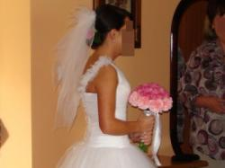 Suknia ślubna typu princessa rozmiar 36-40.