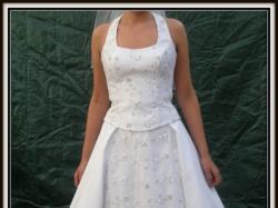 Suknia ślubna używana po upraniu cena 300zł do negocjacji