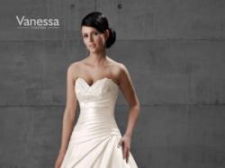 Suknia Ślubna Vanessa 1112 rozm. 36 ecru / ivory wzrost 162cm