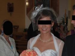 Suknia ślubna Vanessa z podpinanym trenem