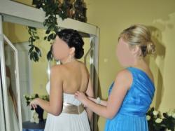 Suknia ślubna VENUS ivory dla wysokiej Panny Młodej