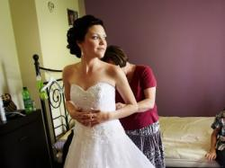 Suknia ślubna Verise Bridal Donatella + dodatki