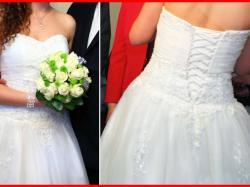 Suknia ślubna VERISE rozm. 38 (regulowana)