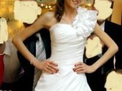 Suknia ślubna Victoria Jane 17206 biała r. 36