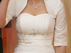 Suknia ślubna visual chris model 304 ecru