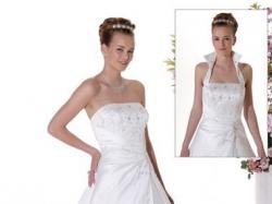 suknia ślubna w kolorze perły