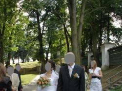 suknia ślubna w rozm. 38/40 śnieżnibiała
