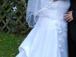 suknia slubna w rozmiarze xl