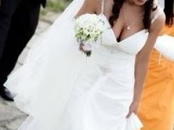 suknia ślubna w stylu greckiej bogini