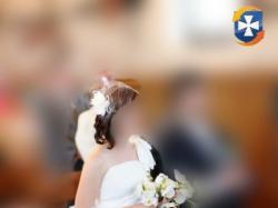 Suknia ślubna w stylu greckim model Rosa Clara