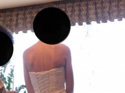 Suknia ślubna w stylu hiszpańskim.